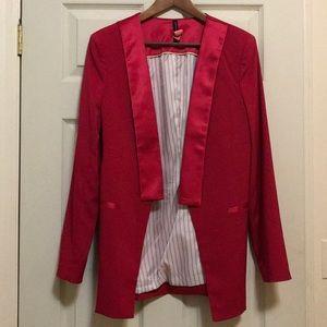 Hot Pink Blazer coat
